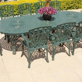 10 Seater Sunray, 125cm x 325cm King Classic Table