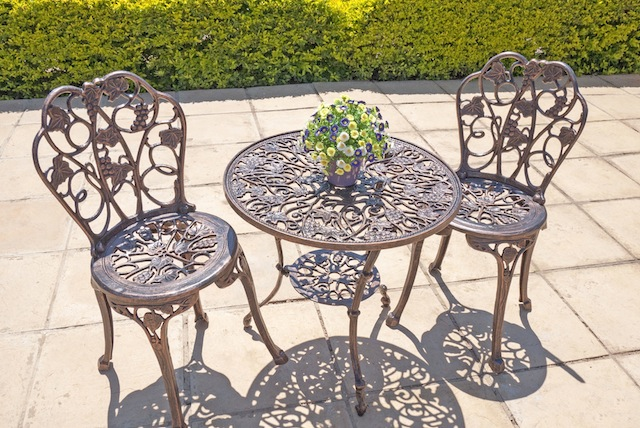 Anray manufacturers aluminium garden furniture