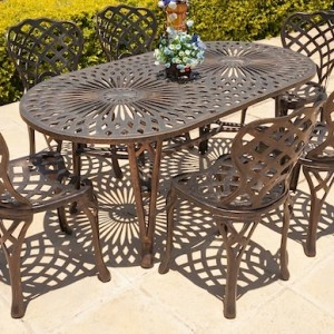6 Seater Classic, 85cm x 157cm King Classic Table Oval