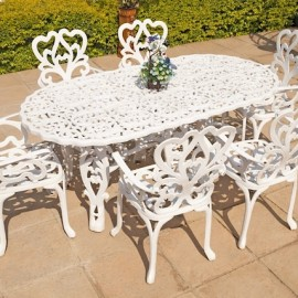 6 Seater New Fern, 90cm x 180cm Spider Table