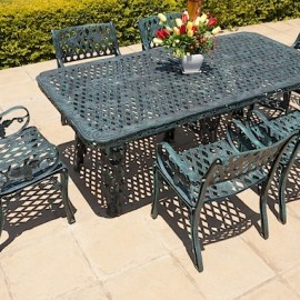 6 Seater Sun Grape, 1m x 2m King Grape Table