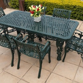 6 Seater Sun Grape, 1m x 2m King Grape Table G