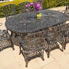 8 Seater Sunray, 125cm x 225cm King Classic Table