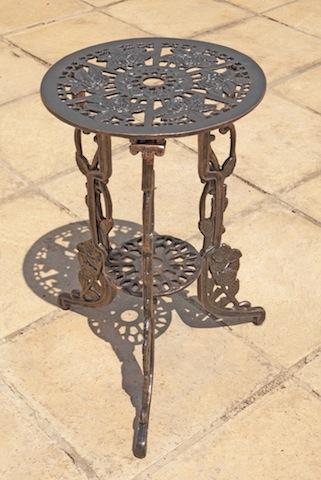Rose table 40cm for Table exterieur 40 cm